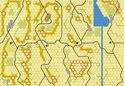 Picture of Imaginative Strategist Panzer Leader Desert Map Set A'B'C'D' 5/8 inch